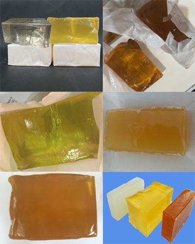 Có khá nhiều loại keo hotmelt PSA dạng bánh giá thành & chất lượng khác nhau.