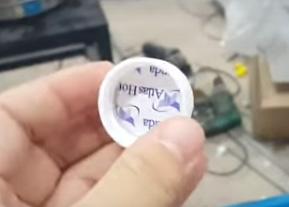 Nắp nhựa dán màng seal/màng nhôm